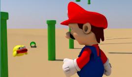 Clip chế: Mario 'đập chết' Flappy Bird