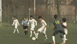 U19 Việt Nam đánh bại Học viện Montverde của Mỹ trên đất Bỉ