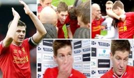 Gerrard khóc nức nở vì Liverpool đánh bại Man City