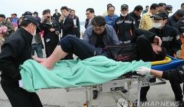 Cận cảnh công tác cứu hộ vụ chìm phà tại Hàn Quốc