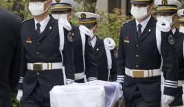 Chùm ảnh: Những tang lễ đẫm nước mắt của các nạn nhân phà Sewol