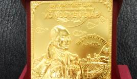 Biểu tượng Đại tướng Võ Nguyên Giáp 103 tuổi đúc từ 103 chỉ vàng