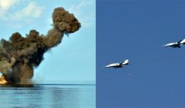 Chiến đấu cơ Việt Nam thực hành ném bom, bắn đạn thật