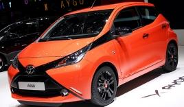 Toyota Aygo mới tiêu thụ xăng như Honda SH
