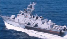 Clip: Tàu tên lửa 'made in Việt Nam' bắn đạn thật trên biển