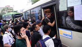 Clip: Cảnh chen lấn kinh hoàng tại bến xe dịp nghỉ lễ 30-4