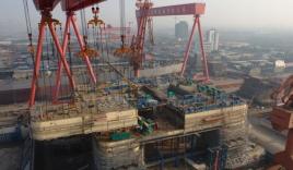 Cận cảnh người Trung Quốc xây dựng giàn khoan HD 981