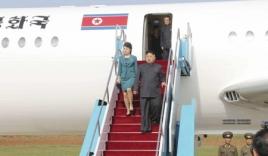 Tiết lộ hình ảnh chuyên cơ đặc biệt của chủ tịch Kim Jong-un