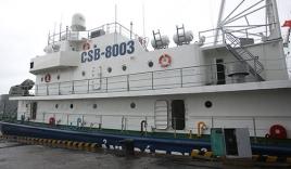 Tình hình biển Đông mới nhất: Tàu CSB 8003  bị nhiều tàu Trung Quốc đeo bám