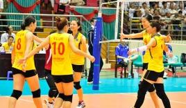 Tuyển bóng chuyền nữ Việt Nam vùi dập Vân Nam Trung Quốc