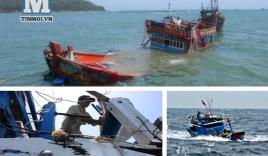 Điểm lại những vụ tàu TQ uy hiếp, đâm chìm tàu cá ngư dân Việt Nam trong tháng 5