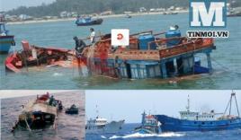 Trung Quốc ngụy biện: Tàu Việt Nam chìm do tự đâm vào giàn khoan 981