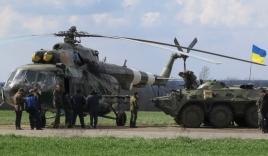 Trực thăng quân đội Ukraine bị bắn rơi, toàn bộ người trong khoang thiệt mạng