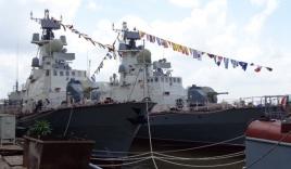 Bàn giao 2 tàu tên lửa hiện đại do Việt Nam tự đóng cho Quân chủng Hải quân