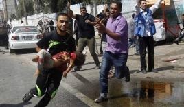 Israel lại nã pháo vào trường học LHQ ở Gaza