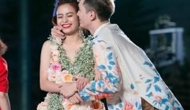 Hoàng Thùy Linh bị 'cưỡng hôn' trên sân khấu