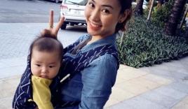 Ngân Khánh bất ngờ công khai con trai?