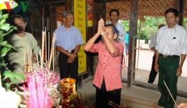 Lễ giỗ đầu Đại tướng Võ Nguyên Giáp ở làng An Xá, Quảng Bình