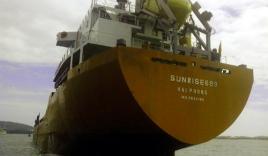Tàu Cảnh sát biển đã tiếp cận được tàu Sunrise 689 chở dầu, 18 thuyền viên