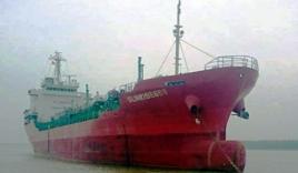 Hình ảnh đầu tiên về tàu Sunrise 689 bị cướp biển tấn công