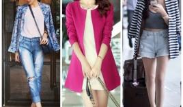 Khám phá áo blazer thời trang thu đông năm 2014