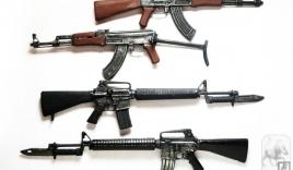 Clip: Tiểu liên huyền thoại AK47 của Nga đọ sức M16 của Mỹ