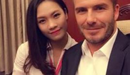 Cô gái Hà Nội nổi tiếng nhờ chụp hình cùng Beckham