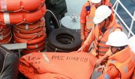 Vụ chìm tàu Phúc Xuân 68:Tạm dừng tìm kiếm 8 thuyền viên mất tích
