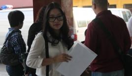 Vợ 'bầu' Kiên giản dị đến phiên tòa xét xử chồng