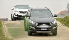 Hyundai SantaFe 2015 'nội' ra mắt, giá từ 1,13 tỷ đồng