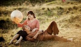 Bộ ảnh cưới 'Chí Phèo - Thị Nở' gây sốt cư dân mạng