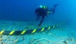 Mất 1 tháng để hàn cáp quang biển bị đứt