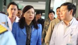 Bộ trưởng Y tế Nguyễn Thị Kim Tiến thăm ông Nguyễn Bá Thanh