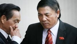 Sau 3 tuần về nước, ông Nguyễn Bá Thanh đã đi lại, nói chuyện được