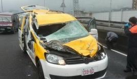 Tài xế taxi kể lại khoảnh khắc bị máy bay Đài Loan quẹt trúng xe