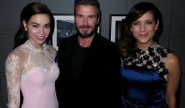 Ảnh Hồ Ngọc Hà chụp cùng David Beckham gây sốt cộng đồng mạng