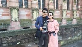 Lã Thanh Huyền cùng chồng hâm nóng tình yêu tại trời Tây