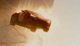 Thót tim màn phi xe qua hai tòa nhà chọc trời của tháp Etihad trong 'Furious 7'