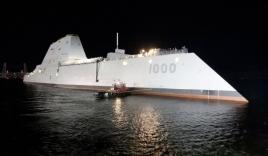 Mỹ sắp triển khai tàu chiến tàng hình hiện đại nhất tới Thái Bình Dương
