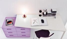 Những mẫu thiết kế bàn học đẹp long lanh cho trẻ