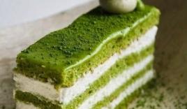 Hướng dẫn cách làm bánh kem tươi trà xanh cực ngon mùa hè