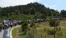 Hơn 70.000 người viếng mộ Đại tướng Võ Nguyên Giáp trong dịp lễ