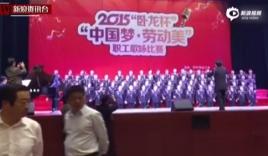 Video: Sập sân khấu ở Trung Quốc, 80 người bị 'nuốt chửng'