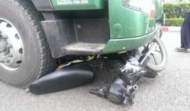 Hai nữ sinh bị xe container cuốn vào gầm, một người tử vong