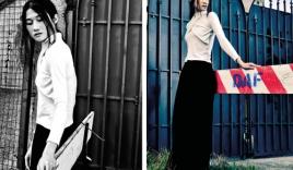 Phong cách chất lừ của Kha Mỹ Vân trên tạp chí Ý