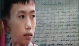 Xúc động lá thư gửi người mẹ đã mất của học sinh lớp 7 mồ côi