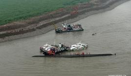 Chìm tàu Trung Quốc: 14 người sống sót, hơn 430 người vẫn mất tích
