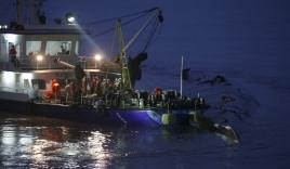 Video: Khoảnh khắc cuối cùng khi tàu khách Trung Quốc chìm dưới sông Dương Tử