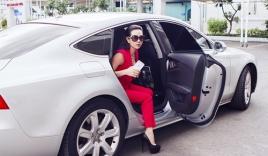 Hoa hậu Thu Hoài diện style công sở đi làm giám khảo