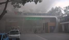 Trường quay S1 Đài Truyền hình Việt Nam bất ngờ bốc cháy